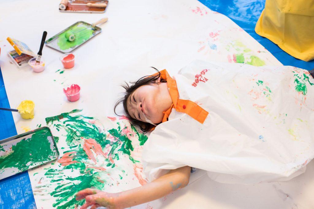 【当日レポート】重症児・医療的ケア児とカラダ全体・五感で楽しむアートセクション