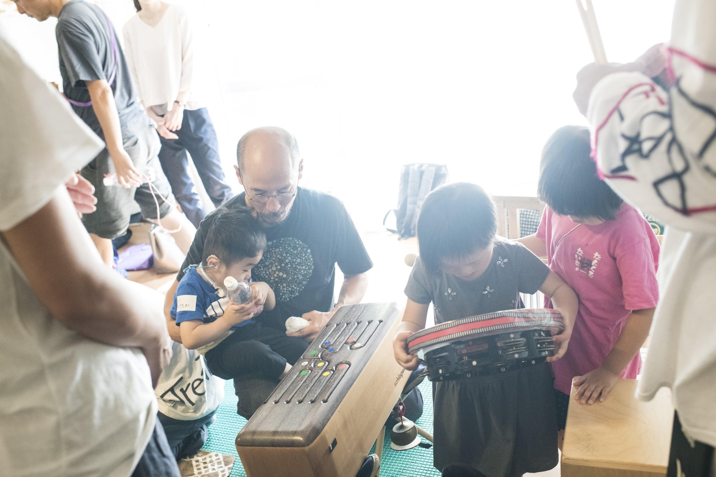 【当日レポート】多目的打楽器を使って・作って音で遊ぶワークショップ、都民の日